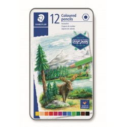 LLAPIS COLORS STAEDTLER 146CM12. MINA SUAU 12 COLORS ASSORTITS
