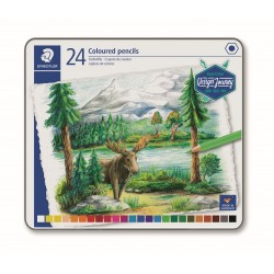 LLAPIS COLORS STAEDTLER 146CM24. MINA SUAU 24 COLORS ASSORTITS