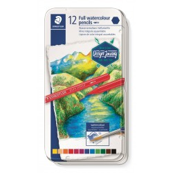 LLAPIS COLORS AQUAREL.LABLE STAEDTLER. PURA MINA 12 COLORS ASSORTITS
