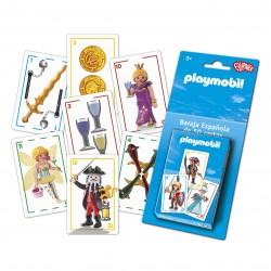 PLAYMOBIL CARTES ESPANYOLES. 50 CARTES. BARALLA ESPANYOLA