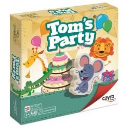 TOM'S PARTY. JOC DE COOPERACIÓ AMB PECES DE FUSTA SOSTENIBLE
