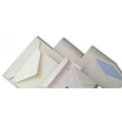 SOBRES BLANCS AMERICNS 110 X 220 MM. AUTOADHESIU. FINESTRA DRETA. CAIXA 500 UNITATS