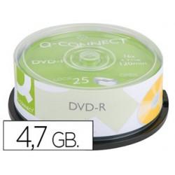 BOBINA 25 DVD-R GRAVABLE