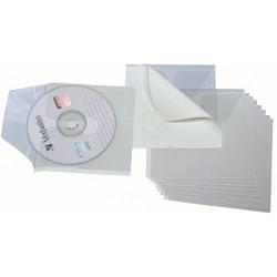 FUNDES ADHESIVES CD'S. BOSSA 10 UNITATS