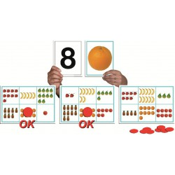 BINGO DEL 1 AL 10.25 LÀMINES DE 19,5 X 13,5 CM. I 150 FITXES