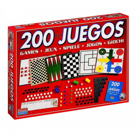 200 JOCS REUNITS. DIFERENTS JOCS DE TAULA. JOGUINA A PARTIR DE 6 ANYS
