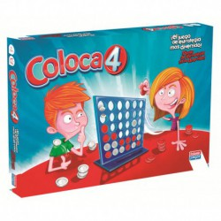 COL·LOCA 4. JOC PER ACONSEGUIR ALINEAR 4 FITXES. JOGUINA A PARTIR DE 6 ANYS