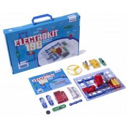 ELECTROKIT. 198 EXPERIMENTS, 1 PLACA I 29 ELEMENTS AMB GUIA. JOGUINA A PARTIR DE 8 ANYS