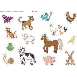 GOMETS GEGANTS. ELS ANIMALS. 2 FULLS