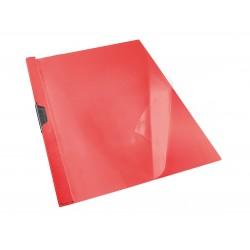 DOSSIER PLÀSTIC AMB GAFA GAFACLIP - 30. DIN A4 1 - 30 FULLS: VERMELL