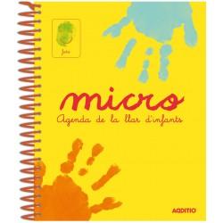 AGENDA LLAR D'INFANTS 0 A 3 ANYS MICRO - ESPIRAL. RELACIÓ FAMÍLIA - ESCOLA. 240 PÀGINES