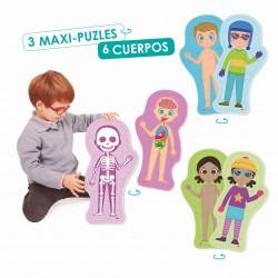 COM SOC? 3 MAXI PUZZLES REVERSIBLES