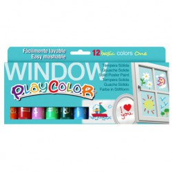 ESTOIG WINDOW PLAYCOLOR. 12 COLORS ONE