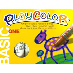 CAIXA RETOLADOR PLAYCOLOR KIDS ONE. 10 GRS. 12 UNIT. COLOR: BLANC