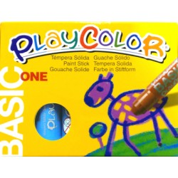 CAIXA RETOLADOR PLAYCOLOR KIDS ONE. 10 GRS. 12 UNIT. COLOR: BLAU CLAR