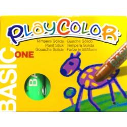 CAIXA RETOLADOR PLAYCOLOR KIDS ONE. 10 GRS. 12 UNIT. COLOR: VERD CLAR
