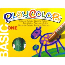 CAIXA RETOLADOR PLAYCOLOR KIDS ONE. 10 GRS. 12 UNIT. COLOR: VERD FOSC