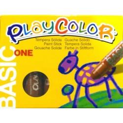 CAIXA RETOLADOR PLAYCOLOR KIDS ONE. 10 GRS. 12 UNIT. COLOR: MARRÒ