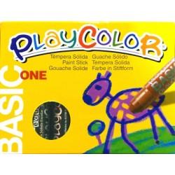 CAIXA RETOLADOR PLAYCOLOR KIDS ONE. 10 GRS. 12 UNIT. COLOR: NEGRE