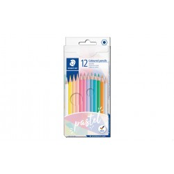 ESTOIG LLAPIS COLORS PASTELLS STAEDTLER 146C12. 12 COLORS ASSORTITS